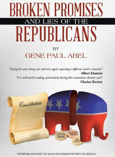 Broken Promises And Lies of the Republicans Book Cover | Colonel for Truth